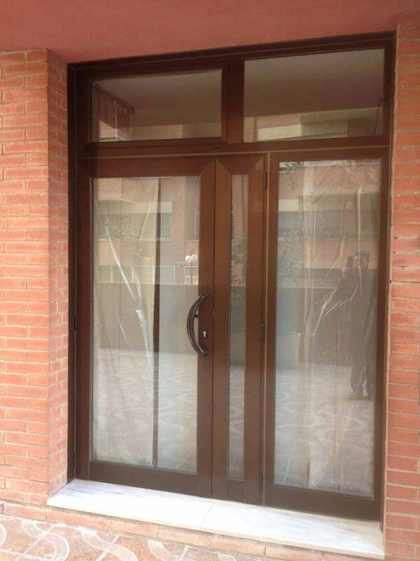 puertas de aluminio a medida y al mejor precio araque