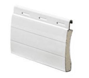 Persiana de aluminio curva modelo C-45