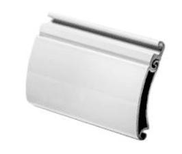 Lama de persianas de aluminio de seguridad