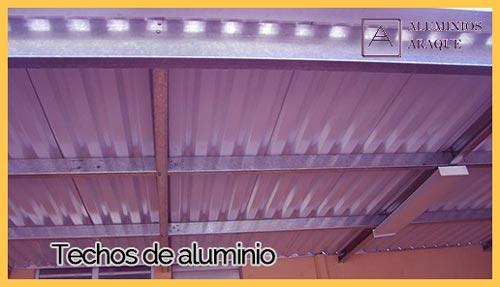 Techos de Aluminio imagen cluster