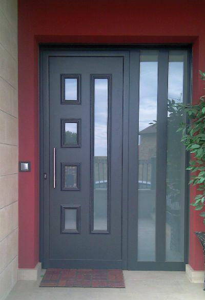 Puertas de aluminio de exterior, limpieza de la puerta