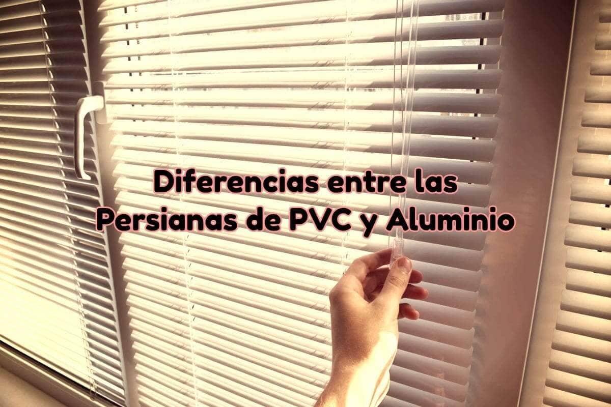 persianas horizontales de aluminio precios