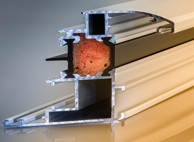 puente termico de ventana de aluminio