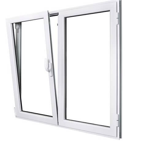 ventana abatible de aluminio