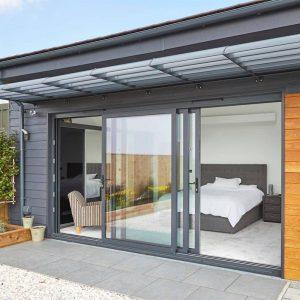 Puertas correderas de aluminio exterior
