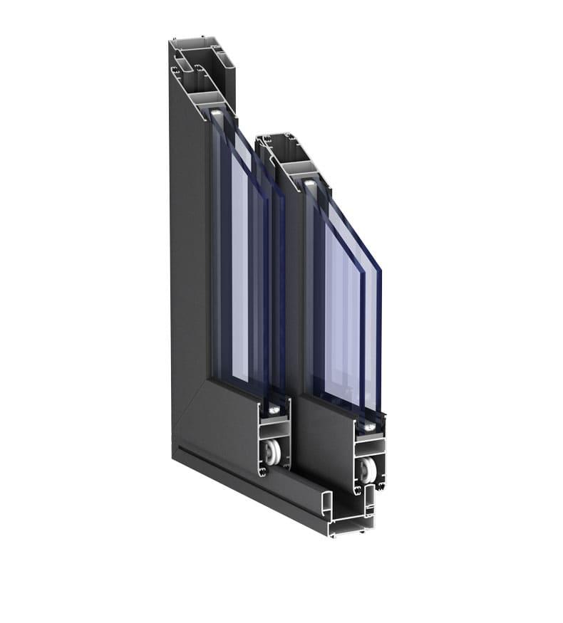 Puertas correderas de aluminio sistema y precios