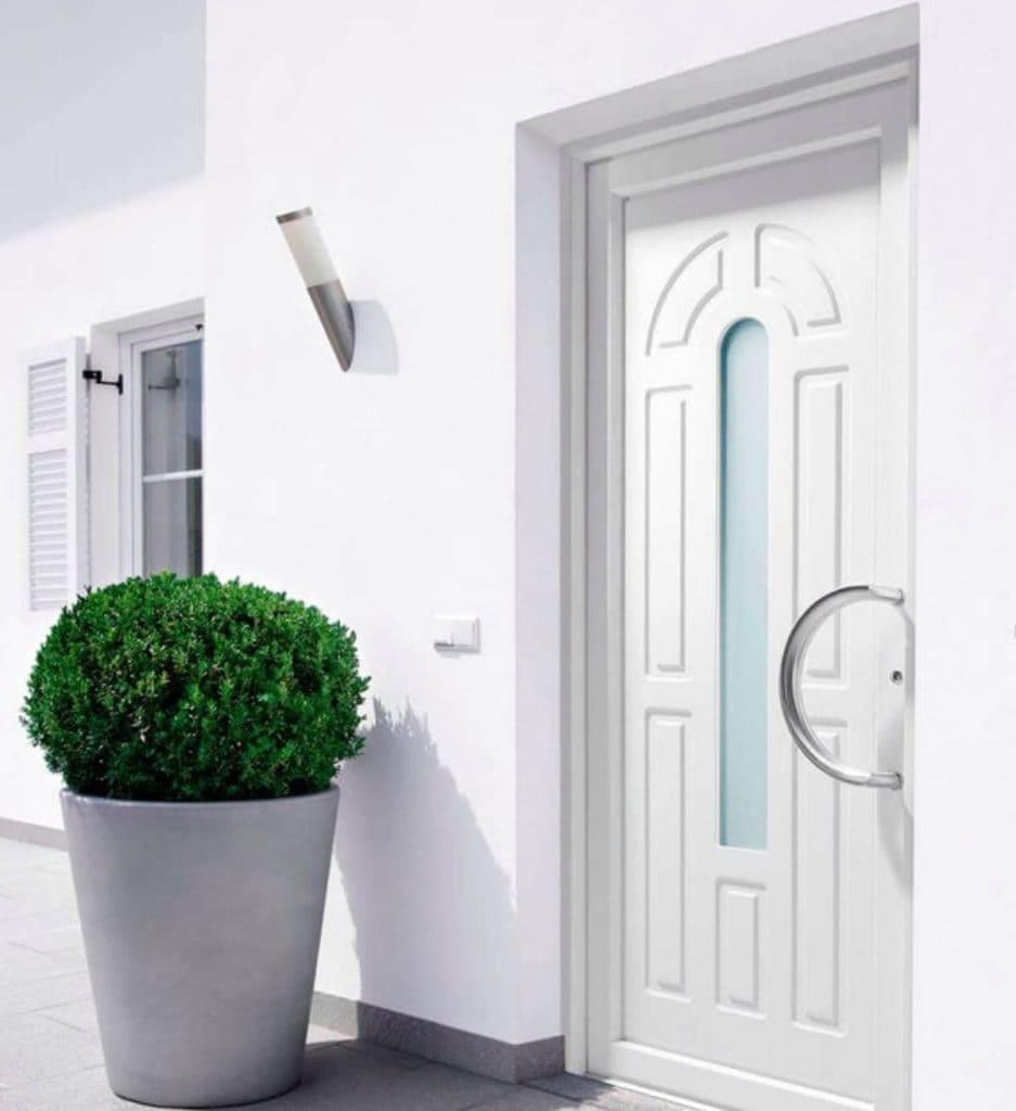 Foto de puerta de aluminio para exterior