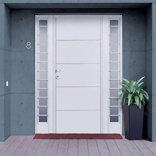 Puertas de aluminio para exterior precios y ventajas