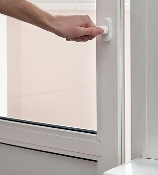 Puertas de aluminio practicables