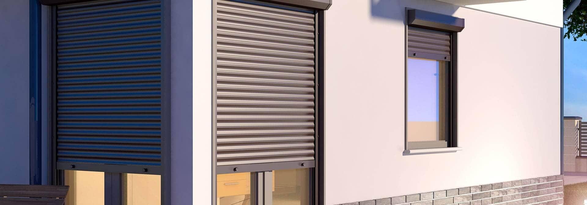 Instalar persianas de aluminio motorizadas enrollables