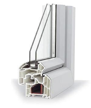 Piezas de ventanas de aluminio