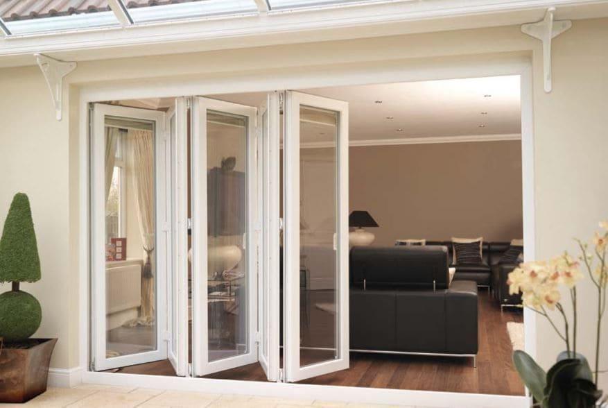 puertas plegables de aluminio para exteriores