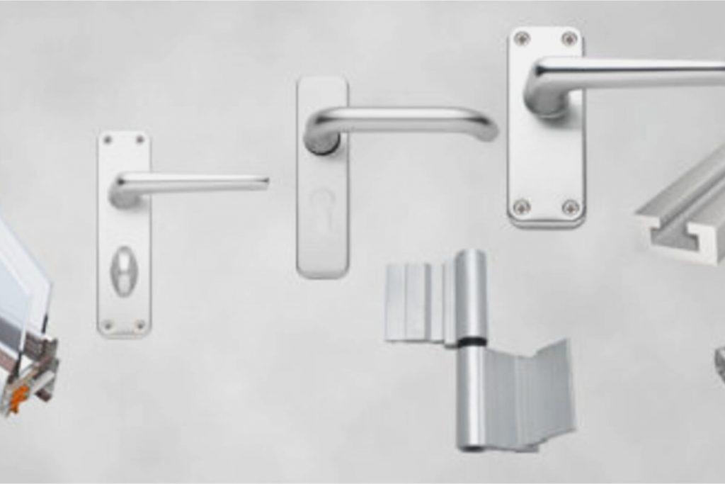 Accesorios de carpintería metálica