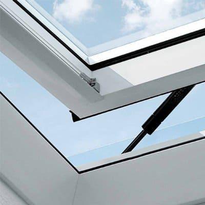 Instalar ventanas de tejado de aluminio