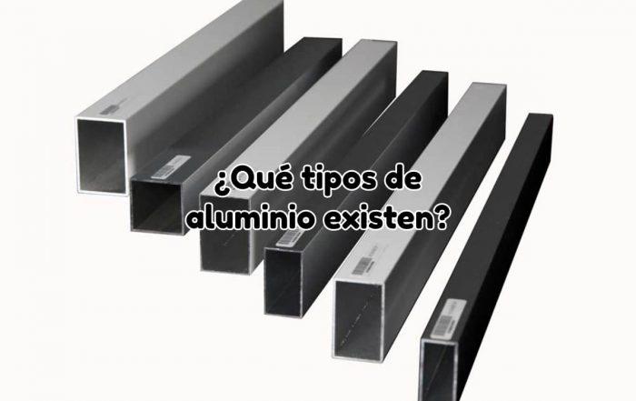 Tipos de aluminio existentes