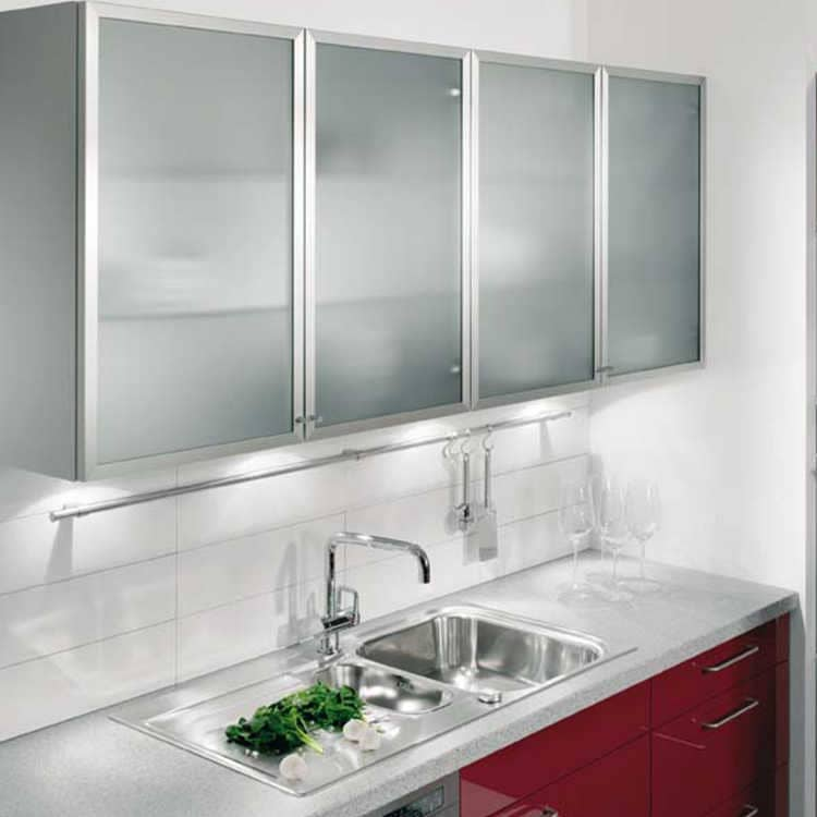 Puertas de aluminio para cocina