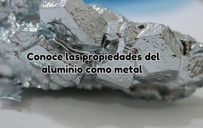 Propiedades del aluminio como metal