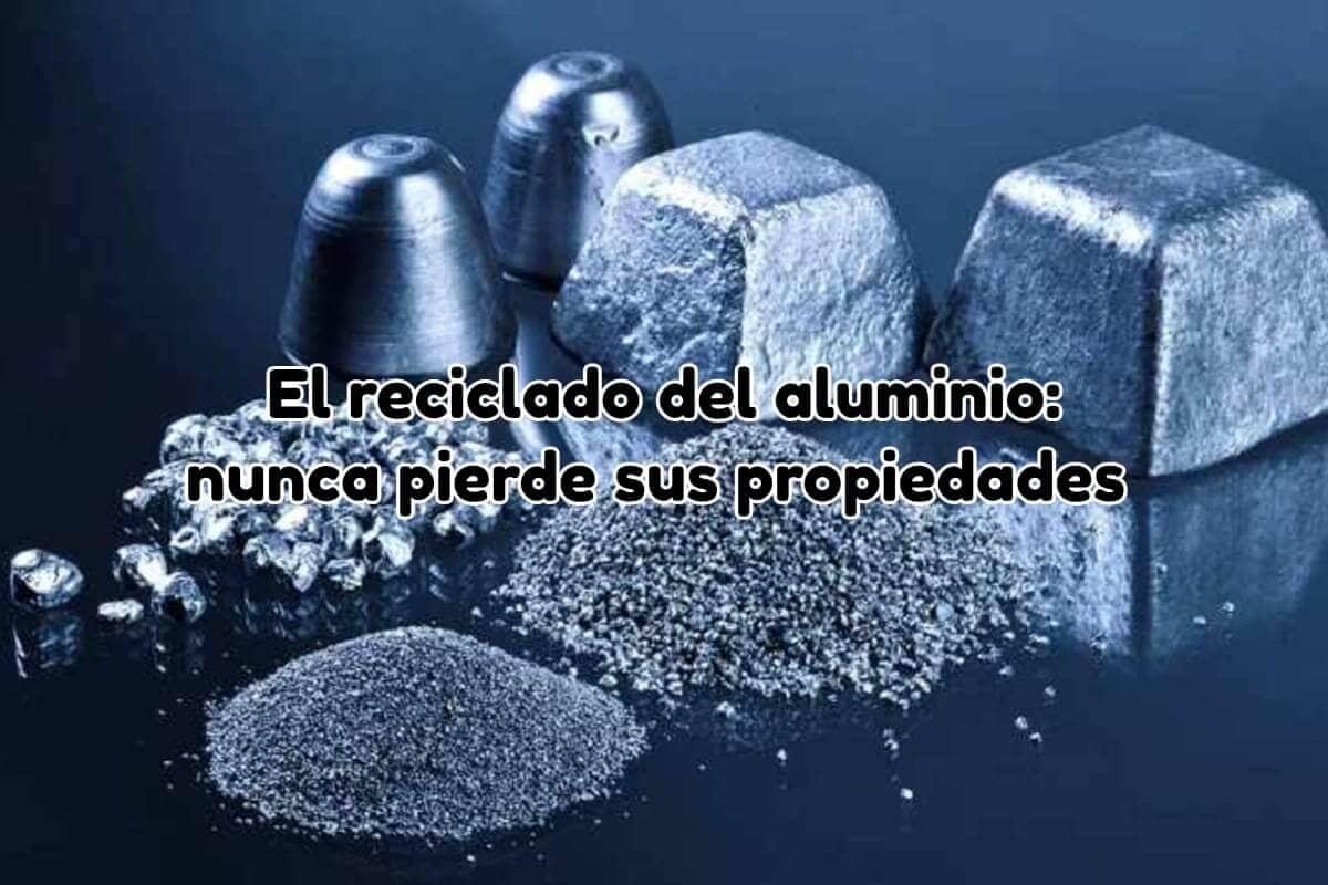 Reciclado aluminio: no pierde nunca sus propiedades